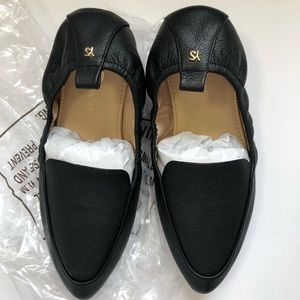 Yosi Samra Black Flats Size 9